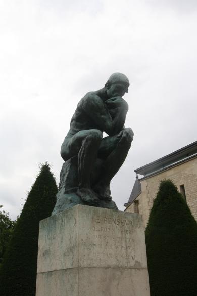 Le Penseur (the Thinker)