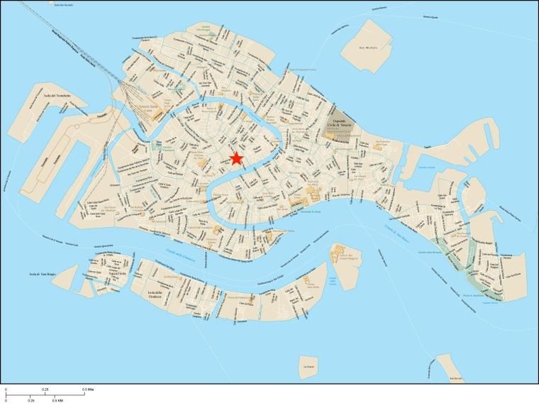 venice detail map