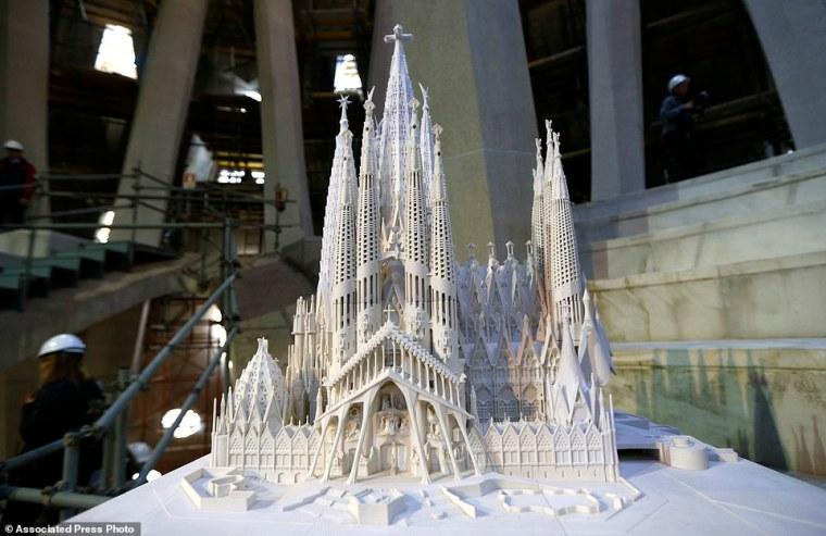 Spain Sagrada Familia Church