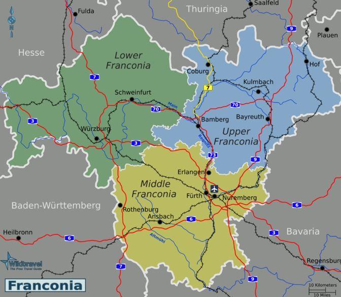 franconia map